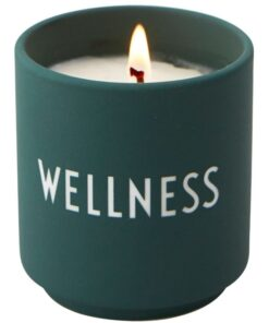 Design Letters Scented Candle 167 gr. - Wellness