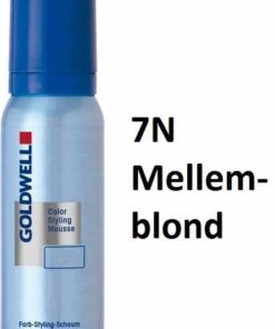 Goldwell Color Styling Mousse 7N Mellemblond 75 ml.