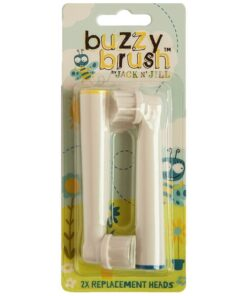 Jack N' Jill Replacement Brushes Buzzy Brush - 2 Pack