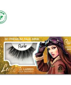 Rude Cosmetics Luxe 3D Lashes Premium Faux Mink - Courage