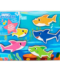 shop Pinkfong puslespil med lyd - Baby Shark af Pinkfong - shopping hos shoppetur.dk